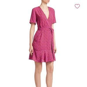 A.L.C. Micah Printed Wrap Dress